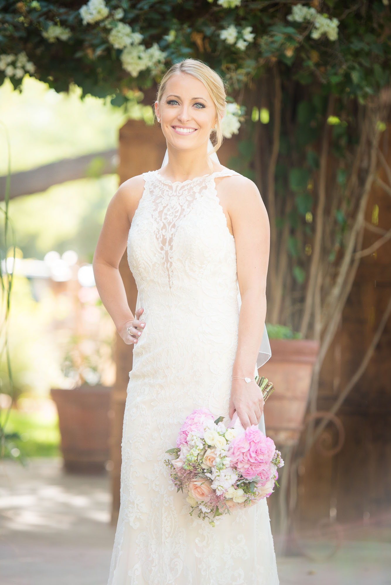 country wedding jamie jason country themed wedding dresses A whimsical portrait of the beautiful bride during her private estate country wedding photography session