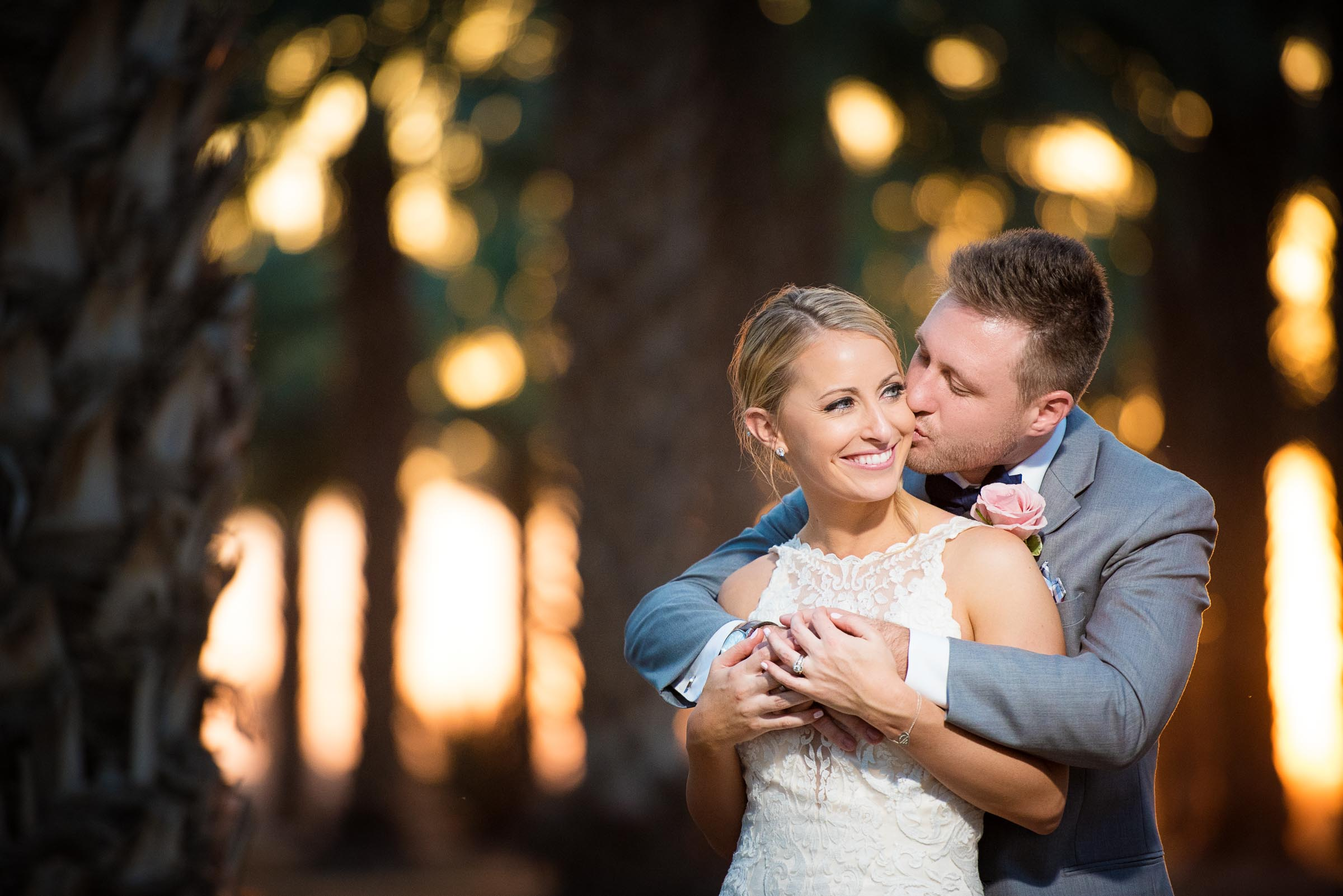 A beautiful private estate wedding photographed by Sarasota wedding photographers Fallbrook Photography