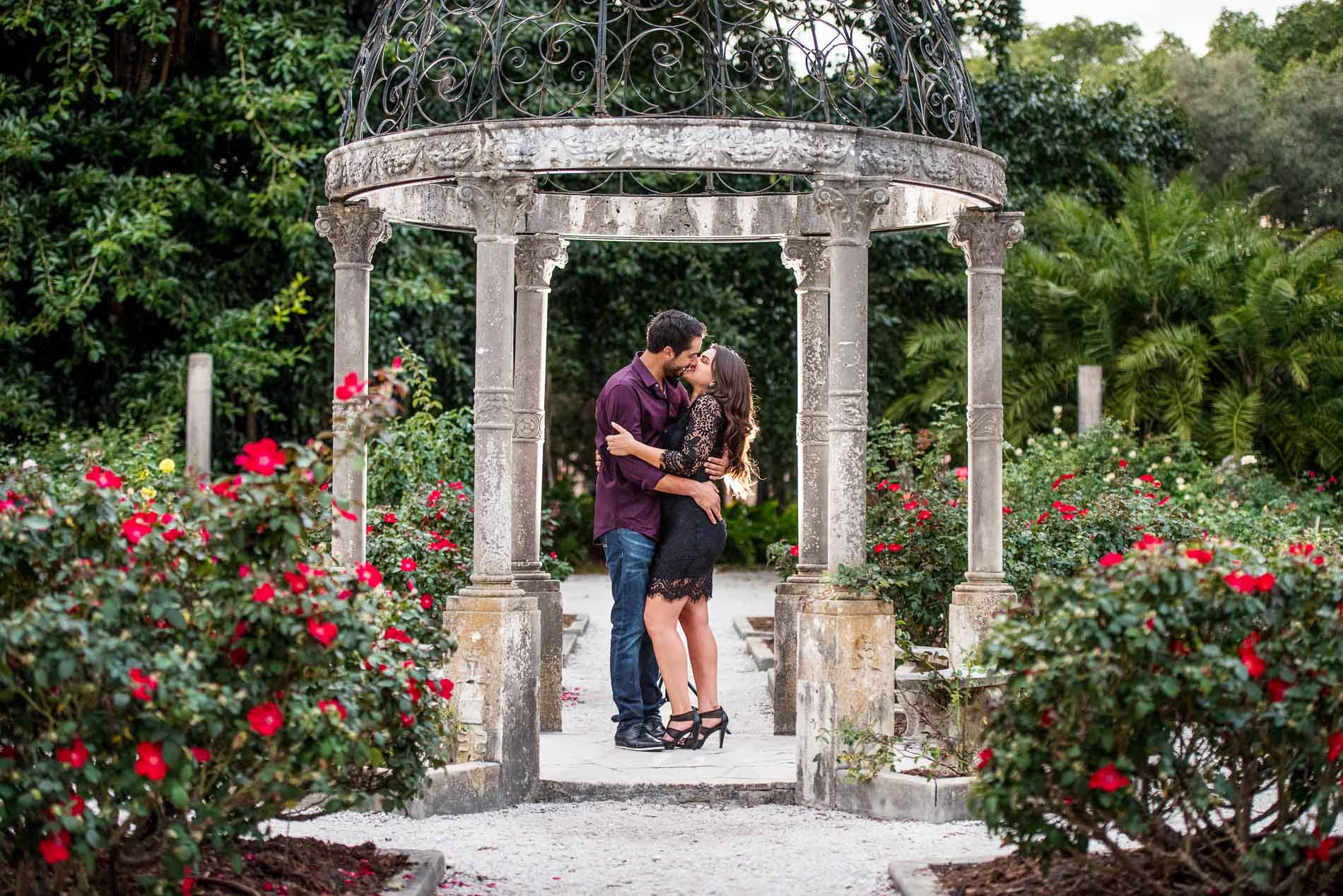 Ringling Art Museum engagement Pictures
